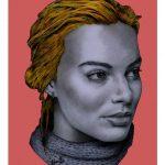 Margot Robbie by Marv Castillo copia