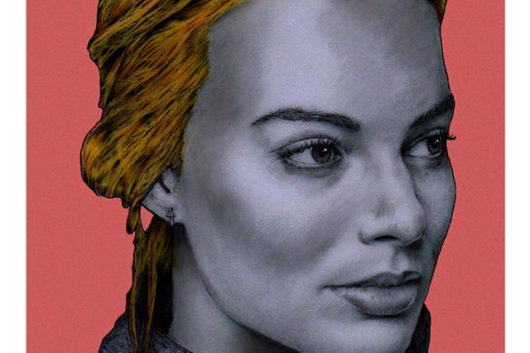 Margot Robbie by Marv Castillo copia
